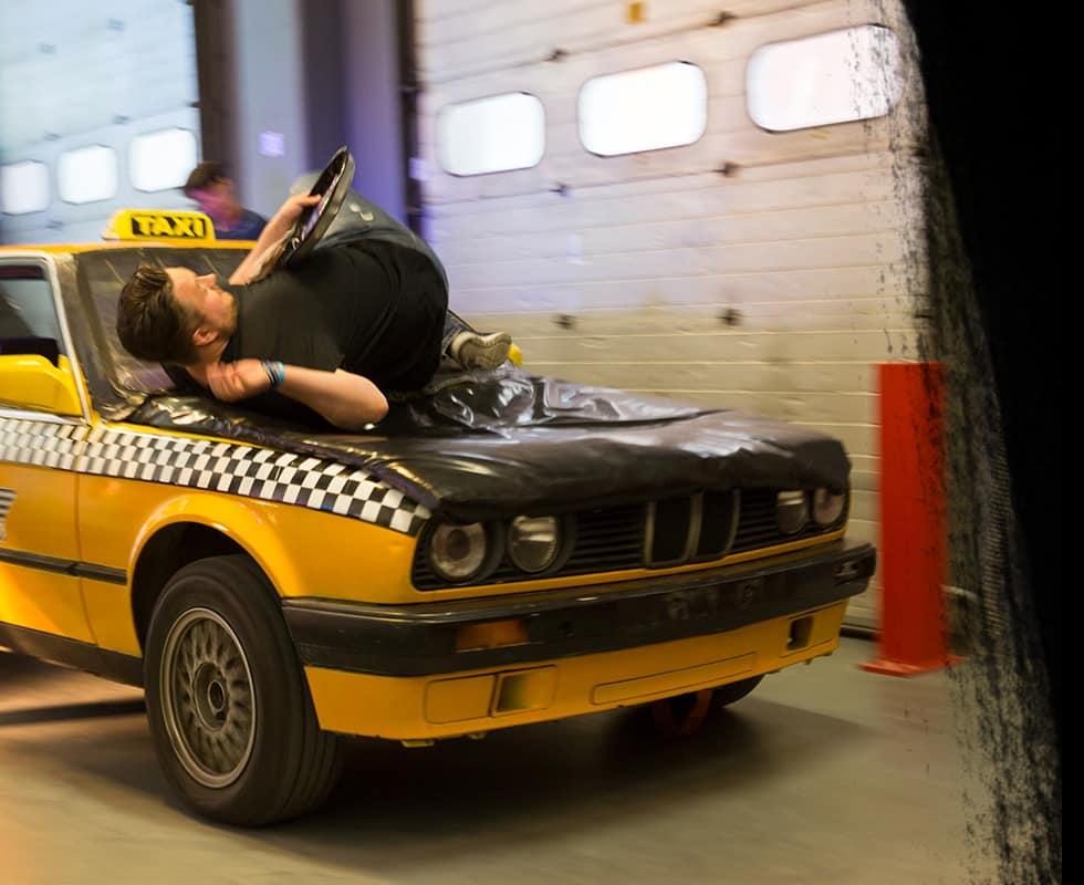 Stuntman voor een dag